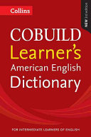 Collins Cobuild Learner s American English Dictionary PDF