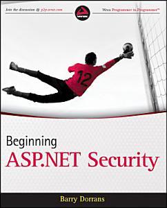 Beginning ASP NET Security PDF