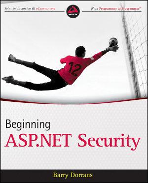 Beginning ASP NET Security