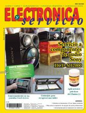 Electrónica y servicio: Servicio a componentes de audio Sony HCD-SH2000
