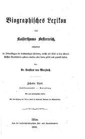 Biographisches Lexikon des Kaiserthums Oesterreich, enthaltend die Lebensskizzen der denkwürdigen Personen, welche 1750 bis 1850 im Kaiserstaate und in seinen Kronländern gelebt haben: Band 1