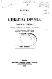 Historia de la literatura española: (1851. VI, 580 p.)