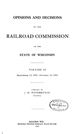 Opinions and Decisions of the Railroad Commission: Volume 2