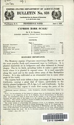 Cypress Bark Scale PDF