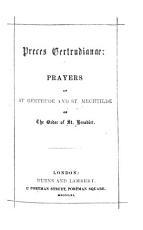 Preces Gertrudianae  Prayers of St  Gertrude and St  Mechtilde  Engl PDF