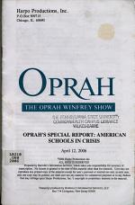Oprah's Special Report