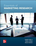Loose Leaf for Essentials of Marketing Research PDF