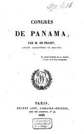 Congrès de Panama: Volume1