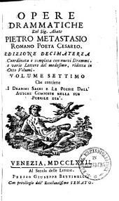Opere drammatiche: Volume 7