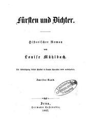 Deutschland in Sturm und Drang: historischer Roman. Fürsten und Dichter : historischer Roman, Band 2,Ausgabe 2