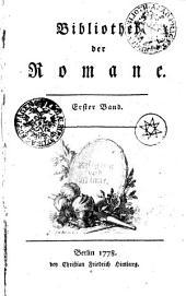 Bibliothek der Romane: Erster Band, Band 1
