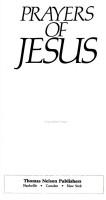 Prayers of Jesus PDF