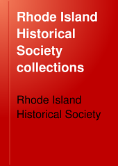 Rhode Island Historical Society Collections