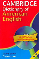 Download Cambridge Dictionary of American English Camb Dict American Eng with CD 2ed Book