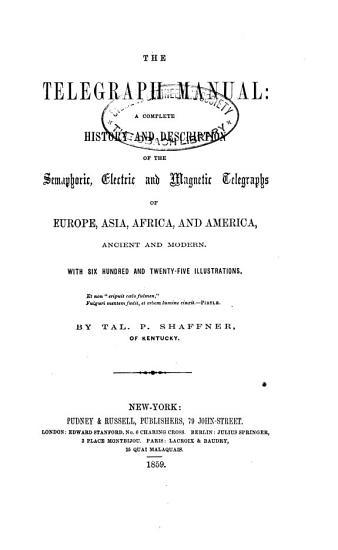 The Telegraph Manual PDF