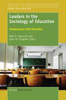 Leaders in the Sociology of Education PDF