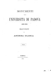 Monumenti della Università di Padova, 1318-1405: Volume 2