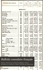 Bulletin consulaire français: Volumes11à12