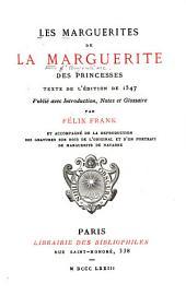 Les marguerites de la Marguerite des princesses: texte de l'édition de 1547, Volume4