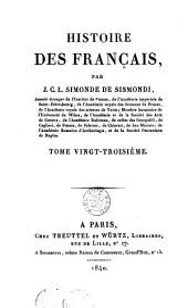 Histoire des Français: 23