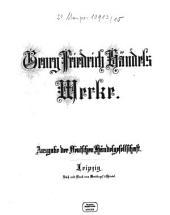 Georg Friedrich Händel's Werke: Samson : Oratorium. 10