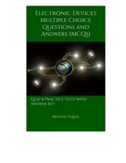 Electronic Devices Multiple Choice Questions and Answers  MCQs  PDF