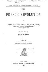 The Origins of Contemporary France: The French revolution