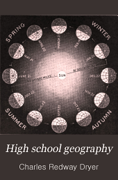 High School Geography: Physical, Economic and Regional ; The Geography of Indiana : Supplement to Dryer's High School Geography