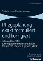 Pflegeplanung exakt formuliert und korrigiert PDF