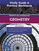 Prentice Hall Mathematics Geometry  Study Guide   Practice Workbook PDF