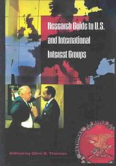 Research Guide to U.S. and International Interest Groups