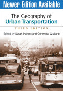 The Geography of Urban Transportation PDF