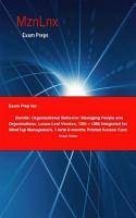 Exam Prep for  Bundle  Organizational Behavior  Managing     PDF