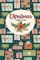 Christmas Card List PDF