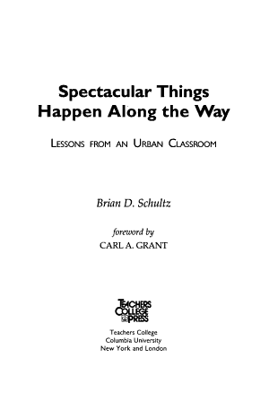 Spectacular Things Happen Along the Way