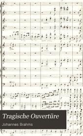 Tragische Ouvertüre: für Orchester, op. 81