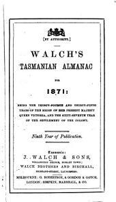 Walch's Tasmanian Almanac