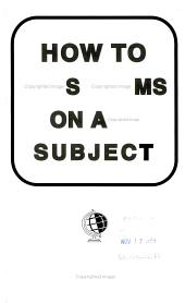 How to Pass Exams on Any Subject PDF