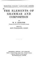 The Elements of Grammar and Composition