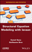 Structural Equation Modeling with lavaan