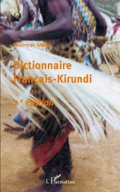 Dictionnaire français-kirundi: (2ème édition)