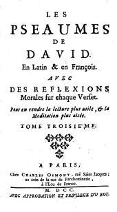 Les Psaumes: Volume3