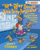 Mrs  Riley Bought Five Itchy Aardvarks  and Other Painless Tricks for Memorizing Science Facts PDF