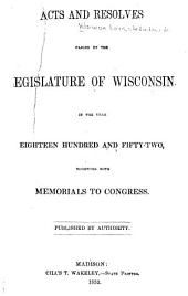 Laws of the State of Wisconsin