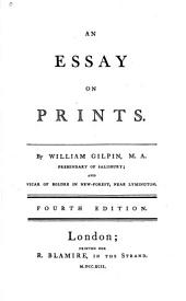 An Essay on Prints