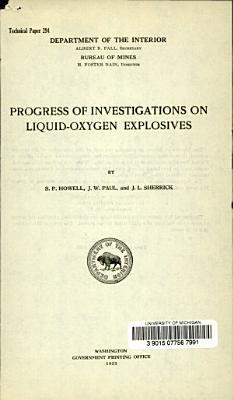 Progress of Investigation of Liquid oxygen Explosives