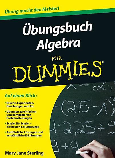 Ubungsbuch Algebra fur Dummies PDF