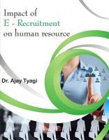 IMPACT OF E RECRUITMENT ON HUMAN RESOURCE PDF