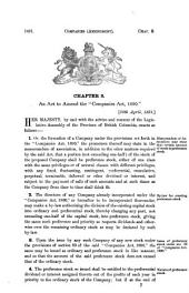 Statutes of the Province of British Columbia