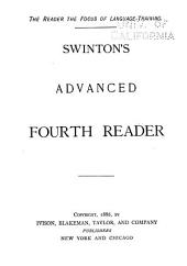 Swinton's Advanced First, Second Reader: Book 4